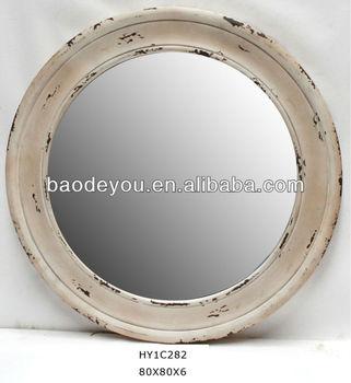 White Washed Wood Frame Mirror Buy White Washed Wood Frame Mirror
