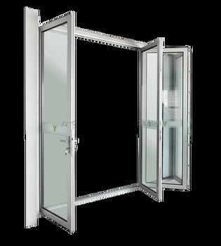 Akkordeon Tür Lowes Außen/luftdichte Schiebetür/bi Fold Tür