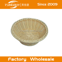 Solid durable Small PP Rattan Basket - High Quality Round Rattan Basket