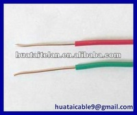 solid copper conductor/pvc insulation/building electrical wire