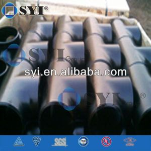 Carbon Steel Pipe Reducing Tee Dimensions of SYI Group