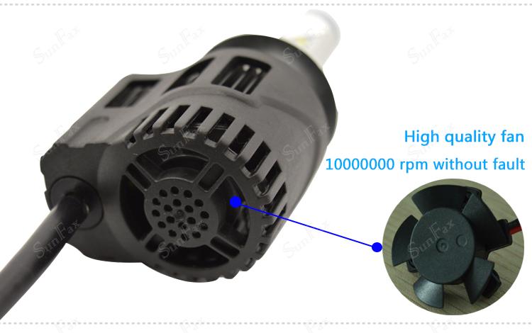 Sunfax P6 55w 5200lm 5202 Led Bulb Car Led Headlight Philipss H16 ...