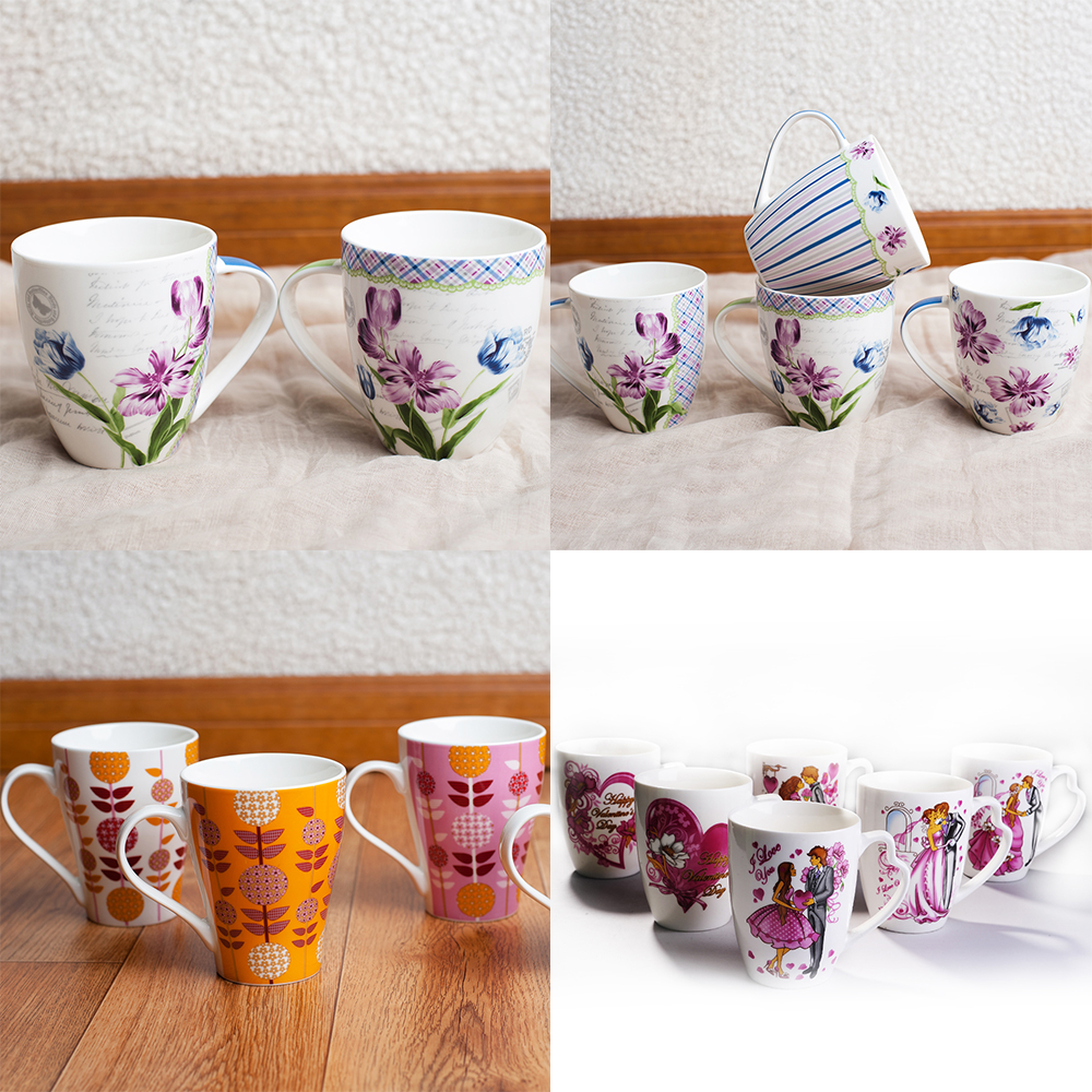 Shopping! Lovely Design Short Fine ceramic coffee mug tea cup for Valentine's Day