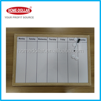 Magnetic Aluminium Frame Dry Erase Board White Board