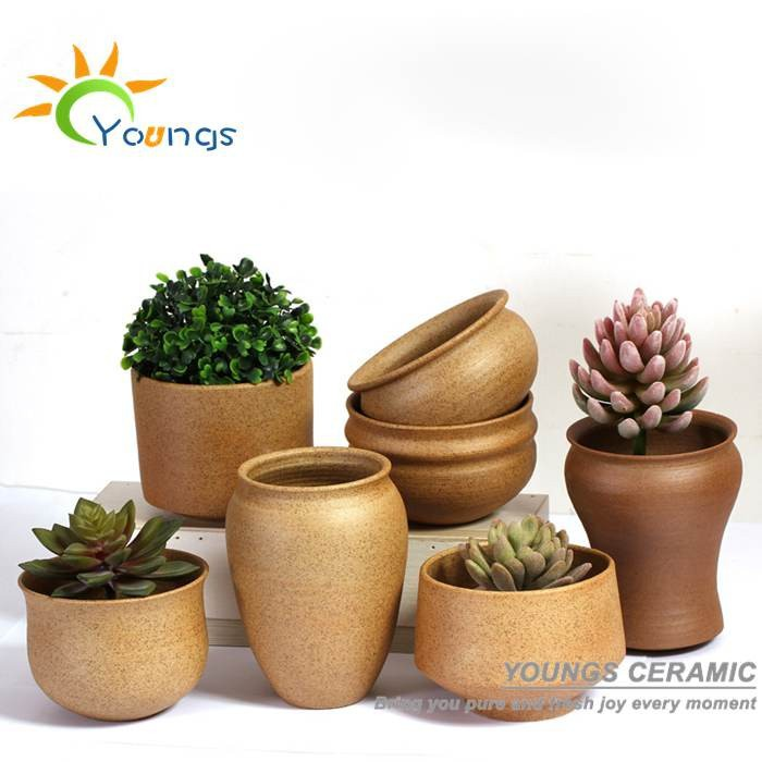100% Handicraft Jingdezhen Small Ceramic Flower Pots Wholesale For  Succulent Plants, View flower pots wholesale, YOUNGS Product Details from