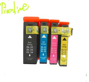 DL 31 DL32 DL33 DL34 compatible ink cartridge for for Dell V525w /V725w  All-In-One Printer