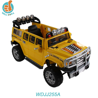 New item big toy jeep strong toy car with remote control two door open