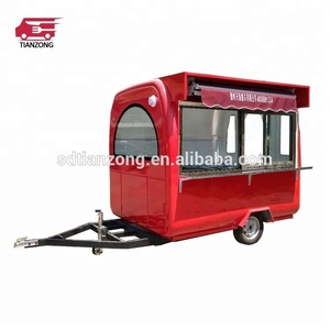 Mobile concession food cart catering trailer for sale