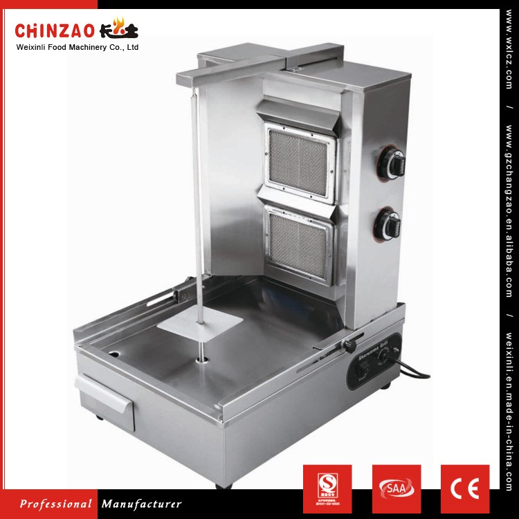 chocolate shawarma machine