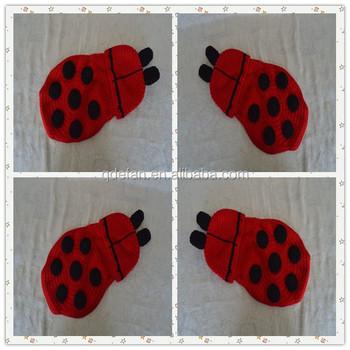 Cute Baby Crochet Ladybug Hat Ladybug Crochet Hat And Tushie Cape