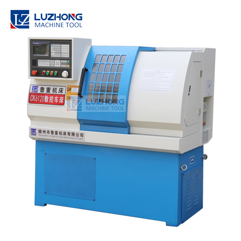 New Chinese Metal CNC Lathe Machine CK6120 Mini CNC Lathe