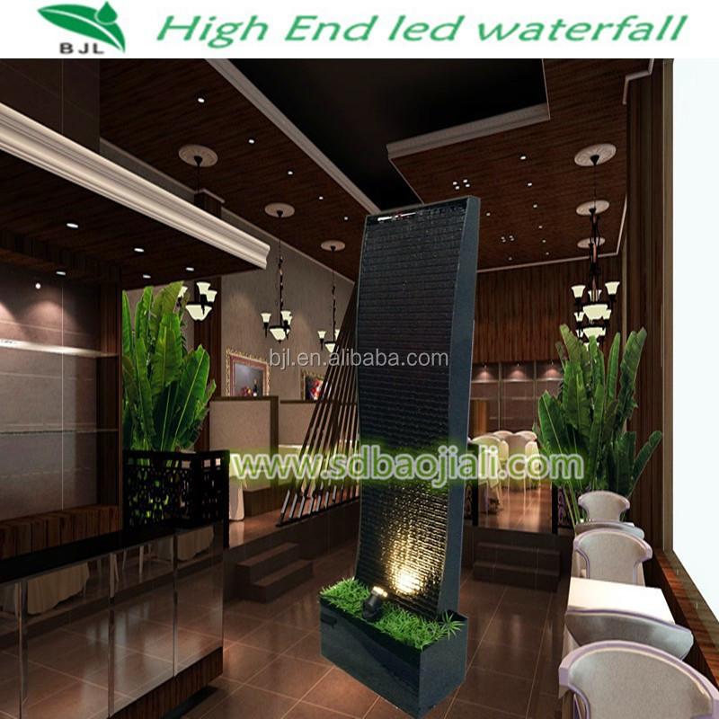 Foshan pared cascada fuente de agua de la pared decorativa for Fuente decorativa interior