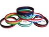 Special Design of Three Layers Silicone Rubber Bracelet