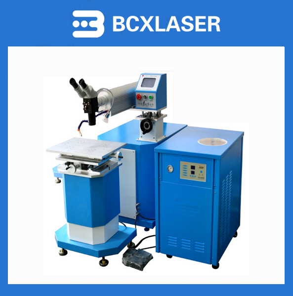 mini portable high frequency yag laser AC arc spot aluminium welding machine