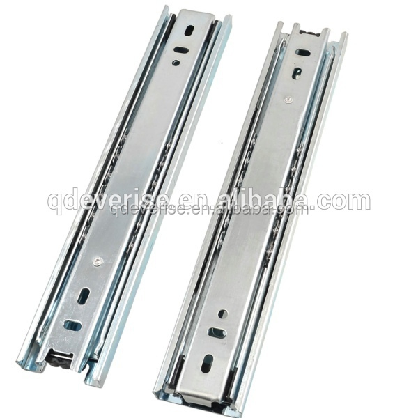 300mm 3 fold full extension side mount ball bearing drawer slides