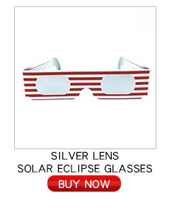 Sıcak Satış Kağıt Güneş Tutulması Gözlük