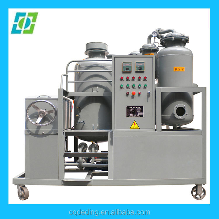 diesel oil recycling purifier,oil solid contaminant filtering machine
