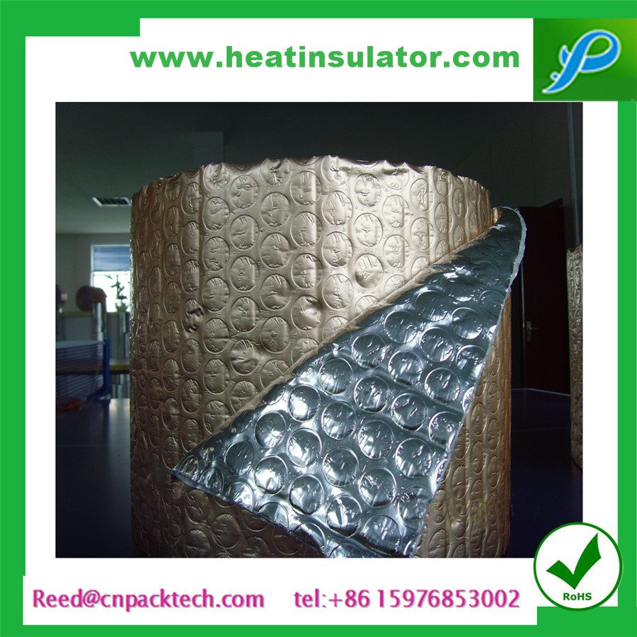 heat insulation poly bubble foil outside can help house cooler keep comfortable temperature