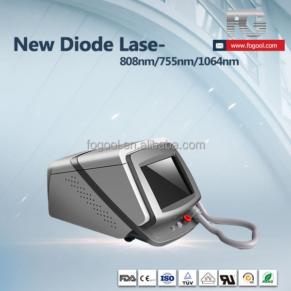 New Diode laser 808nm hair removal / no feeling hair removal device