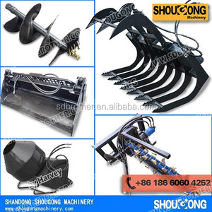 Attachments for Kubota Skid Steer Loader