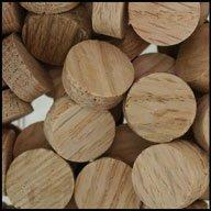 "WIDGETCO 5/8"" Oak Wood Plugs, Face Grain"