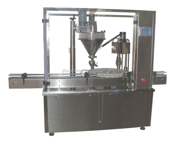 dry powder automatic filling machine and packing line for extinguisher