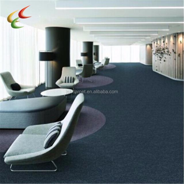 Commercial 50x50cm Pvc Carpet Office Nylon Tiles