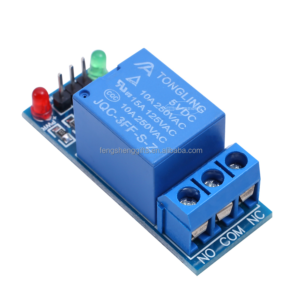 5V low level trigger One 1 Channel Relay Module interface Board Shield For PIC AVR DSP ARM MCU Arduinos