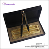 Preferential three rings on the top of pen cap elegant design twin pen set