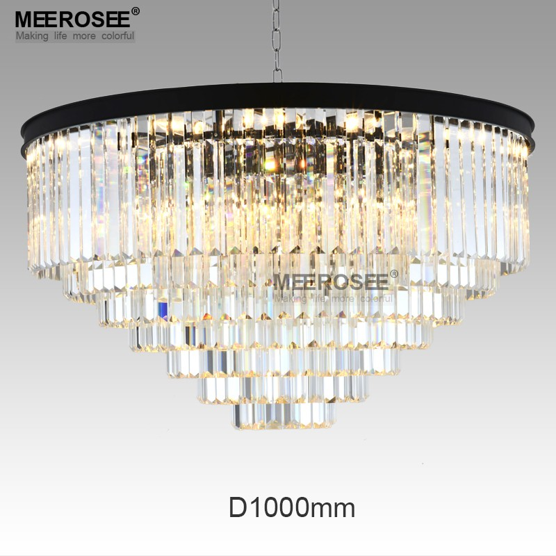American Style Crystal Ceiling Light Flush Mounted Crystal Lights ...