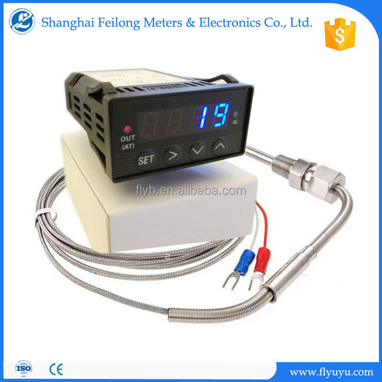 Egt Exhaust Gas Temperature Probe With 12v Digital Display Controller  Pyrometer For Car - Buy Egt Probe,Egt Exhaust Gas Temperature,Egt Exhaust  Gas
