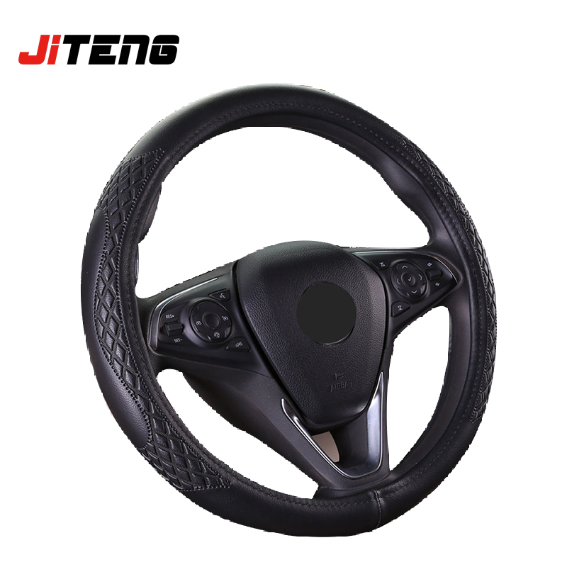 New design soft handle leather steering wheel cover
