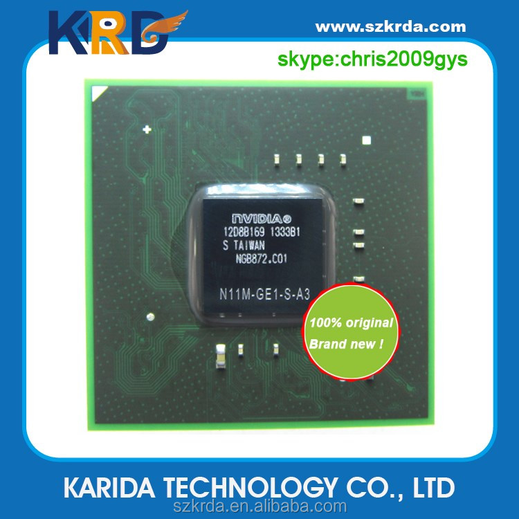 Original New BGA chipset N11M-GE2-S-B1 N10M-GS2-S-A3 N11M-GE1-S-A3 IC Chips laptop motherboard components