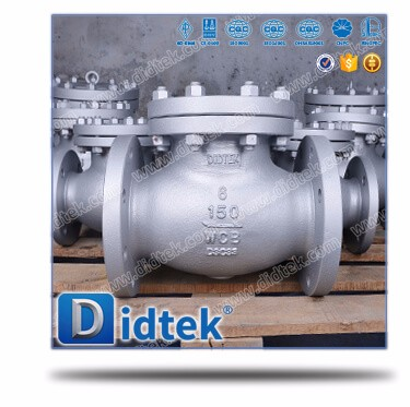 "Didtek Castbon steel 6"" WCB check valve great price"