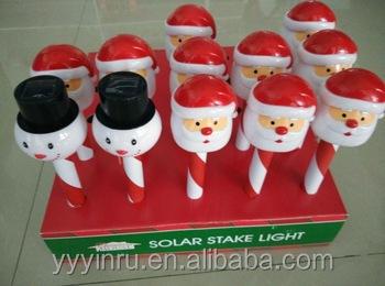 Christmas Lights Led Solar Christmas Snowman Outdoor