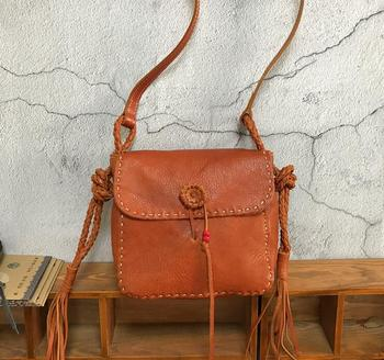 f1929ef282ae 2017 new vegetable tanned leather polish women handbags Retro handmade bags  genuine leather women Shoulder Messenger