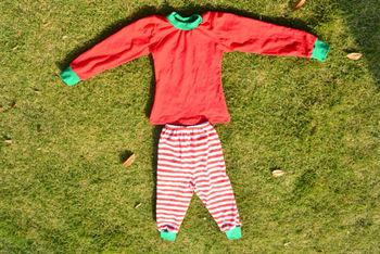 c9923571c5 Boys Girls toddler Christmas pajama sets clothing teenage child christmas  pajamas red green pjs stripe pajamas