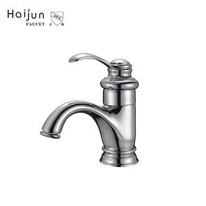 Popular Items Artistic Bathroom Deck Mounted Brass Basin Mixer Faucets