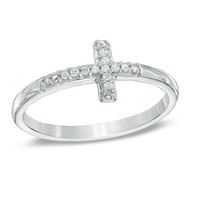 wholesale simple style mens 925 sterling silver cross ring