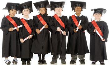 Black Preschool Graduation Caps And Gowns Buy Black Preschool