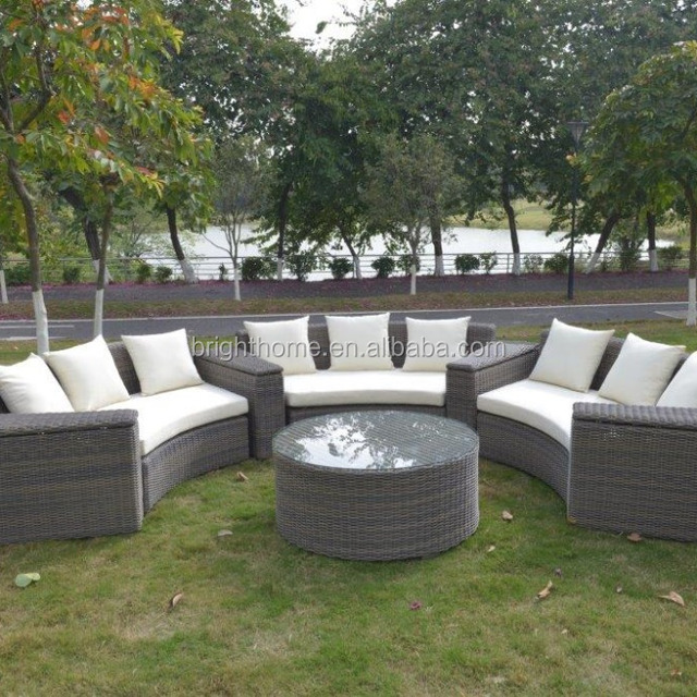 Rattan Furniture  Outdoor Garden Sectional Sofa. garden furniture germany with cushions Source quality garden