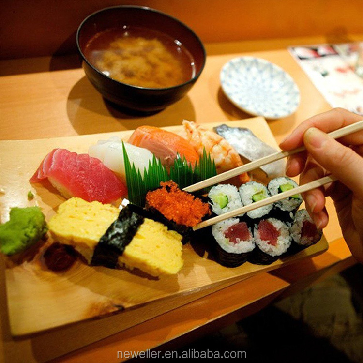 Food Grade Reusable small wooden sushi boatfor sale