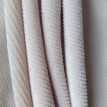 Breathe freely and elastic Imitation stripe cotton wool velvet fabric with polyester material with warm and soft effect