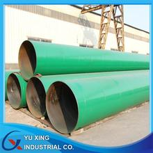 Green Painting Painted Cover Spiral Steel Pipe