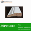 custom size high quality gesso primed finger joint radiata pine wood moulding For home wall decor