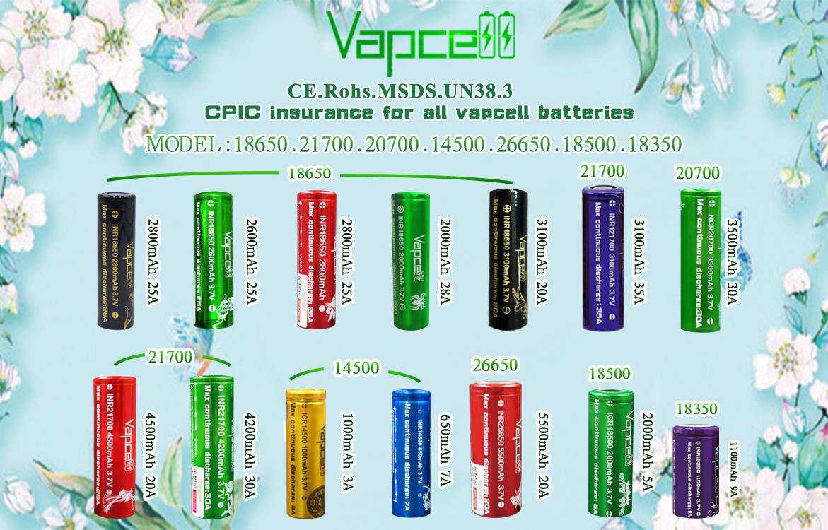 Top quality and low price vapcell 10440 320mah 3a 3.6v original rechargeable lithium battery for power tools batteries