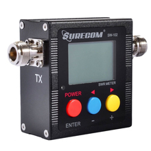 Surecom <span class=keywords><strong>SW</strong></span>-<span class=keywords><strong>102</strong></span> 125-525 mhz デジタル VHF/UHF アンテナ電源 Swr メーター 2 双方向ラジオ