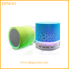 Bluetooth speaker with led light, metal wireless bluetooth speaker
