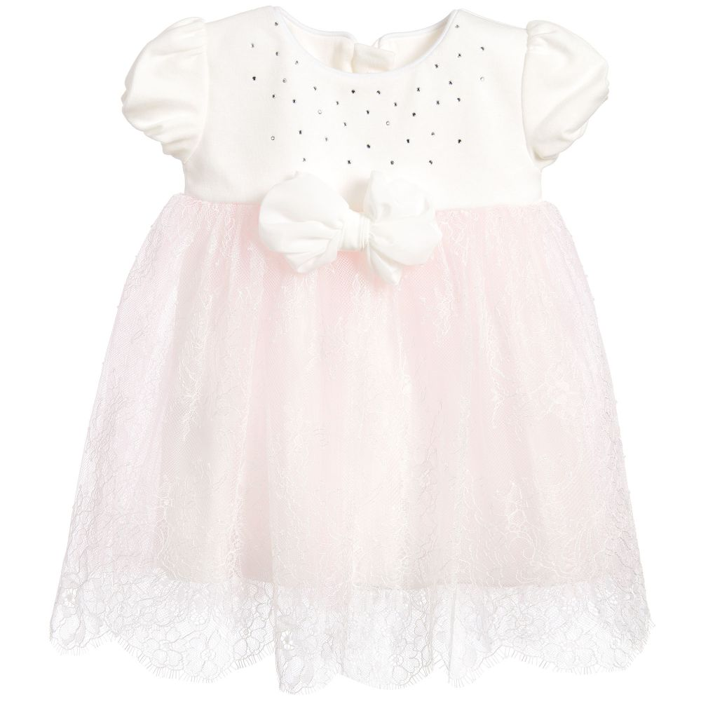 turkey baby dress party dress Baby Girls Pink Lace Dress