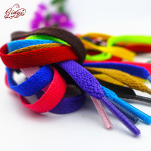 8mm Flat Polyester Colored Canvas Shoe Lace